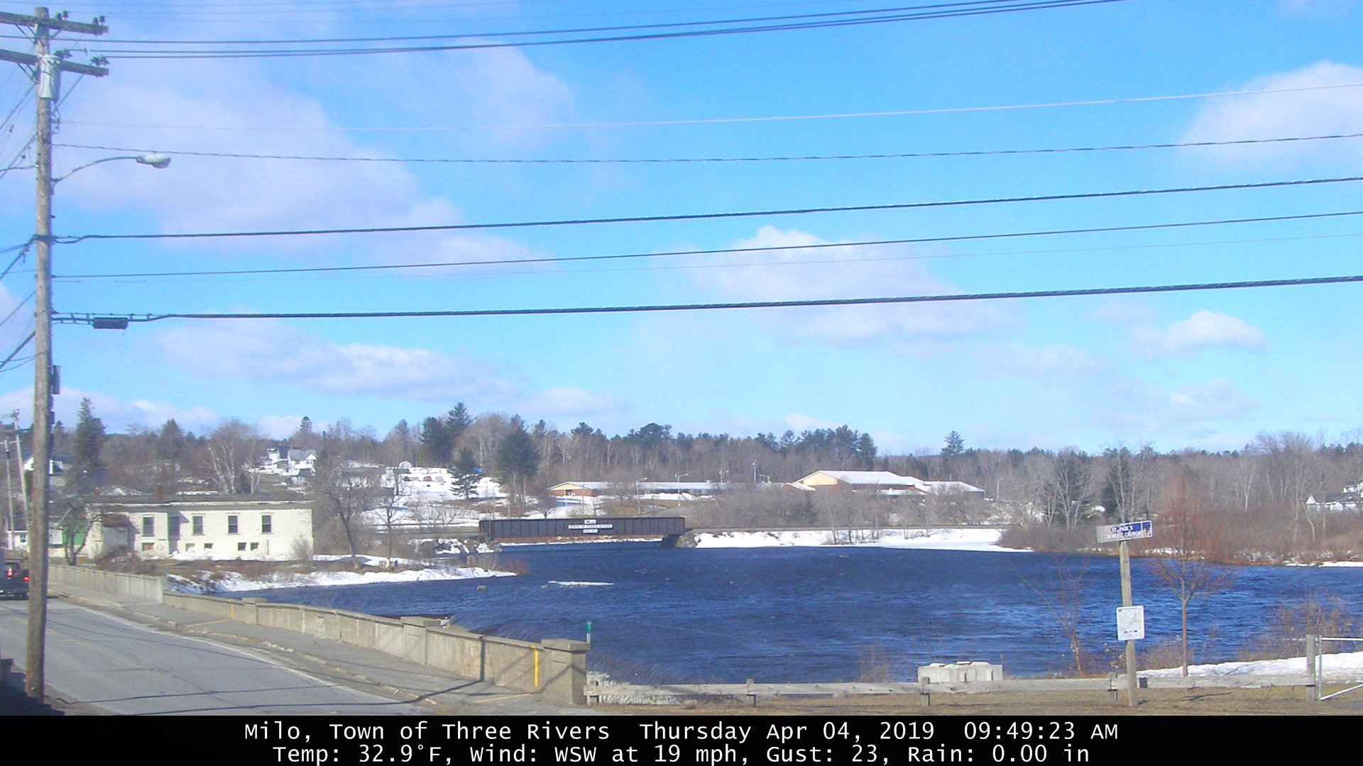 Three Rivers Maine Webcam